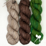 Trio Palette 8, Entice MCN - 200+ yards each (600+ yards total)