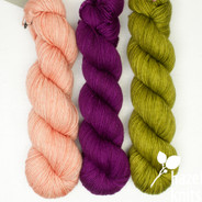 Trio Palette 9, Entice MCN - 200+ yards each (600+ yards total)