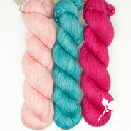 Trio Palette 11, Entice MCN - 200+ yards each (600+ yards total)