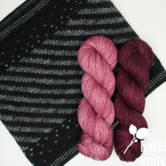 Sparkle and Twirl set, Illa with French Rose