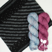 Sparkle and Twirl set, Daphne with Hydrangea