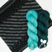 Sparkle and Twirl set, Moonshadow with Beachglass