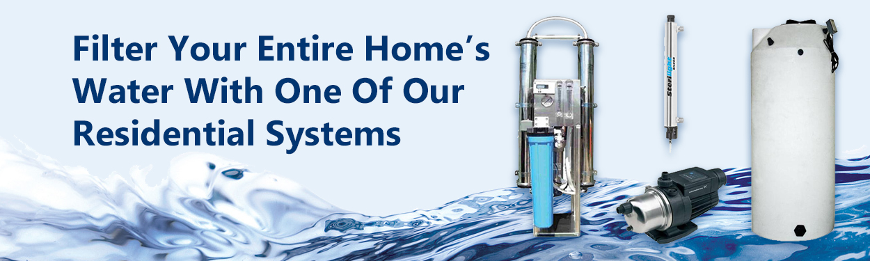 Whole House Residential Reverse Osmosis Systems