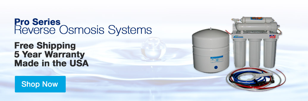Pro Series Reverse Osmosis Systems