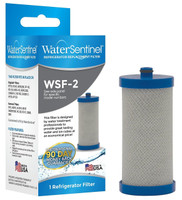 The WSF-2 is a direct replacement refrigerator water filter for the Frigidaire WF1CB filters