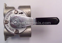 "Fleck 3/4"" Stainless Steel Bypass 60040"