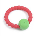 Chewbeads Mercer Rattle Punchy Pink