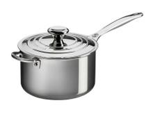 Le Creuset 4 qt. Stainless Steel Saucepan