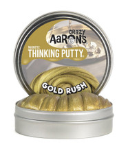Crazy Aarons Gold Rush Magnetic Thinking Putty