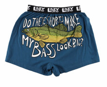 Lazy One Do These Shorts Make My Bass Look Big Boxer