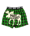 Moose Caboose Plaid Boxer
