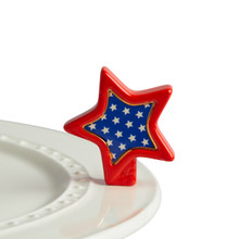 Nora Fleming Patriotic Star Mini