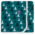 Kickee Pants Swaddling Blanket, Ceder Christmas Trees