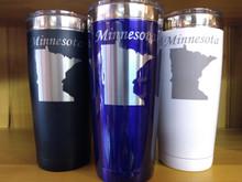 Minnesota State 22 oz Stainless Tumbler