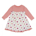 Kickee Pants Long Sleeve Swing Dress, Natural Gems - Size 12-18 Months