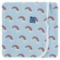 Kickee Pants Swaddling Blanket, Pond Rainbow