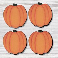 Pumpkin Magnets, Set of 4