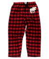 Moose Plaid Flannel Unisex PJ Pant