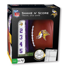 Minnesota Vikings Shake n Score Travel Dice Game