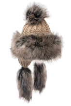 Village House Fur Hat - Tan