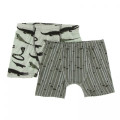 Kickee Pants Boxer Briefs (Set of 2), Aloe Reptiles and Succulent Bamboo