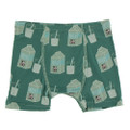 Kickee Pants Boxer Briefs, Ivy Milk