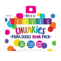 Chunkies Paint Sticks - Neon Pack - set of 6