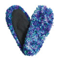Fuzzy Footies Blue/Green/Purple