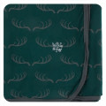 Kickee Pants Swaddling Blanket, Pine Deer Rack