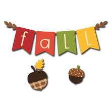 """""""Fall"""" Banner Magnets S/3 (25018M)"""