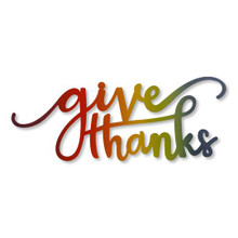 """""""Give Thanks"""" Magnet Rainbow"""
