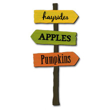 Fall Signpost Magnet