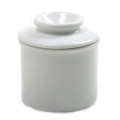 Norpro White Porcelain Butter Keeper