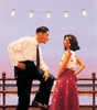The Big Tease by Jack Vettriano