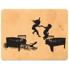 HOT LAVA -  art card and postcard