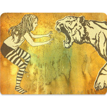 Art Card Postcard - FIERCE