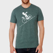 FASTER FASTER on heather forest - 52% cotton, 48% polyester
