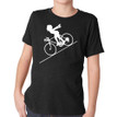 FASTER FASTER (boy) on kids tri-blend on vintage black