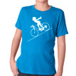 FASTER FASTER (boy) on kids tri-blend on vintage turquoise