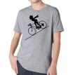 FASTER FASTER (boy) on kids tri-blend on heather grey