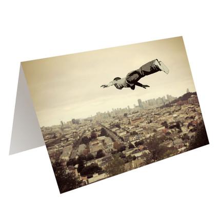 FLYING DREAM - greeting card