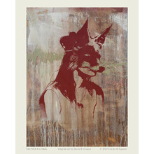GIRL WITH FOX MASK poster