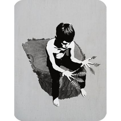CONTEMPLATING GROWTH art card