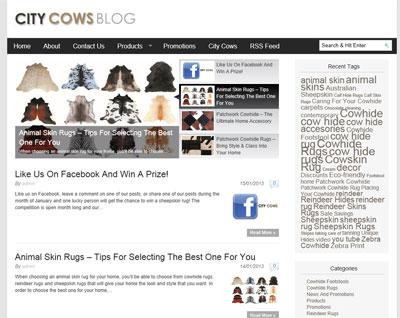 City Cows Blog