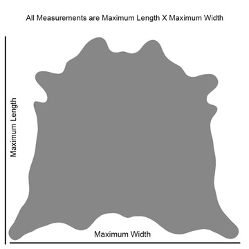 How we measure our cowhides