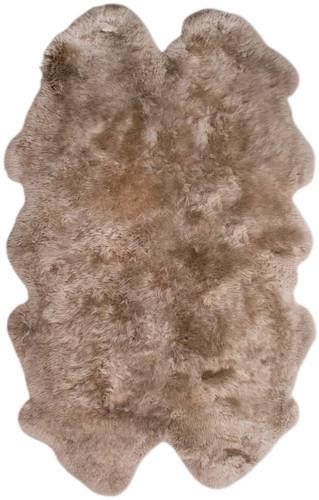 Brown Taupe Quarto Sheepskin Rug