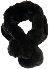 Black Bellringer Fur Scarf