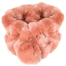 Pink Bellringer Fur Scarf