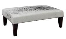 3ft x 2ft Cowhide Footstool FST870