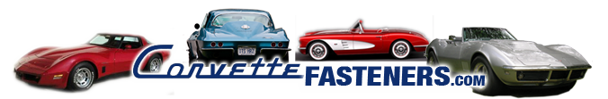 Corvette Fasteners & Restoration Hardware